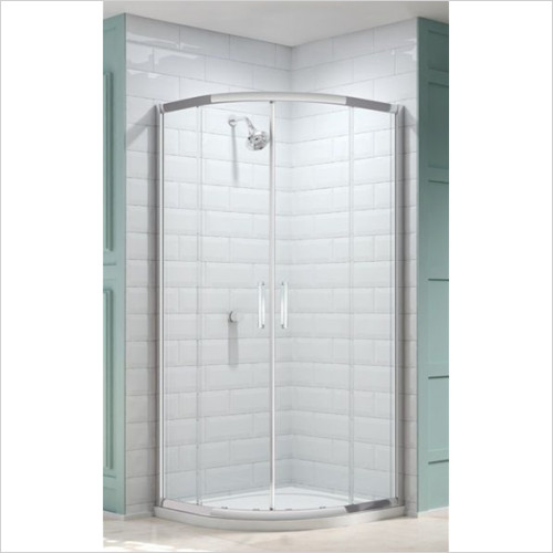 Merlyn - Showers - 8 Series 2 Door Quad 800mm Incl MStone Tray