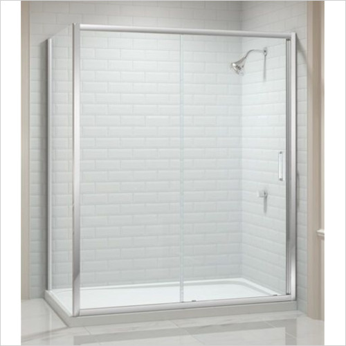 Merlyn - Showers - 8 Series Sliding Door 1100mm Incl MStone Tray