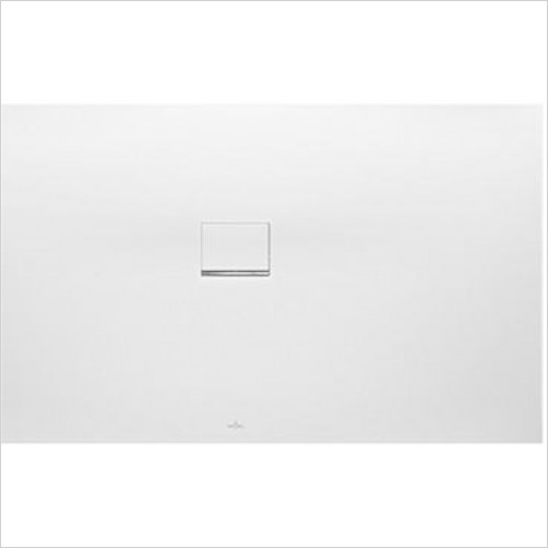 Villeroy & Boch - Showers - Squaro Infinity Corner Left Against Wall 1700 x 1000 x 40mm