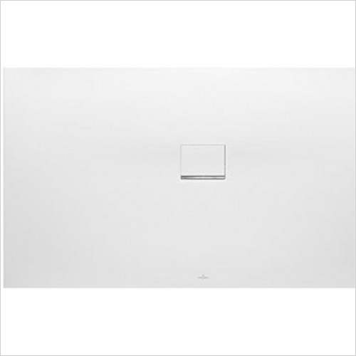 Villeroy & Boch - Showers - Squaro Infinity Corner Right Against Wall 1700 x 1000 x 40mm