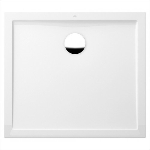 Villeroy & Boch - Showers - Futurion Flat Rectangle Quaryl Shower Tray 1000 x 800mm