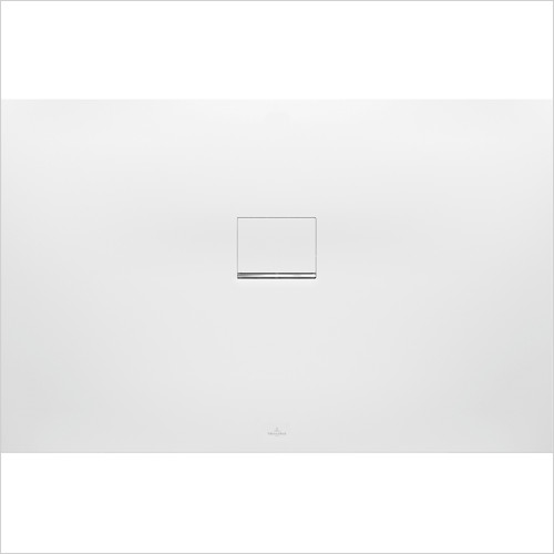 Villeroy & Boch - Showers - Squaro Infinity Corner Left Against Wall 800 x 750 x 40mm